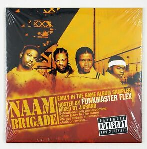 NAAM-BRIGADE-Early-In-The-Game-CD-SAMPLER-2002-HARD-CORE-RAP-SEALED-UNPLAYED