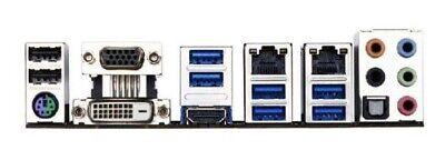 I//O Shield For backplate GIGABYTE GA-Z97X-UD5H Motherboard Backplate IO