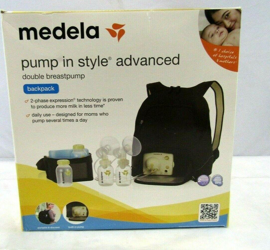 Medela Advanced Personal Double Breastpump Breast Pump 57018w D7