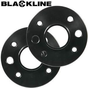 Spurverbreiterung schwarz 30mm Achse LK 4x98 für Fiat Panda Typ 169