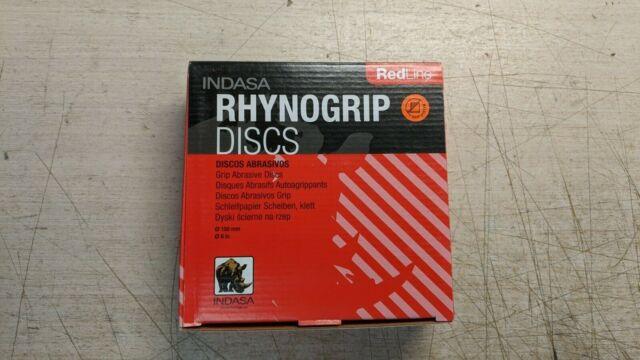 "Indasa 620-1500 DynoGrip Redline P1500 Grit DA Paper 6/"" Disc 50 Per Box"