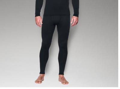 NEW Under Armour UA 1281108 Mens Base 2.0 Leggings Pants LARGE BLACK 001