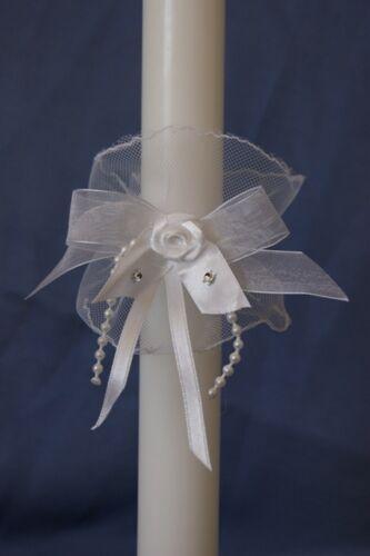 Tropfschutz Kerzenrock Kerzentuch Kommunionkleid Kommunion Hochzeit Taufe Neu