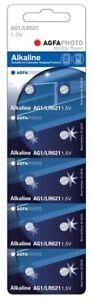 10 Stück Agfaphoto Ag1 Knopfzellen Uhrenbatterien Knopf Zellen Lr621 Lr60 Sr621 Kann Wiederholt Umgeformt Werden. Uhren & Schmuck