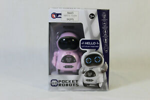 Pocket Roboter Klein Spiel Roboter RC C1 Mädchen Rosa Robot