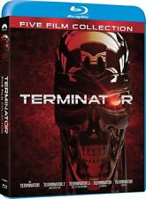 TERMINATOR BLU RAY COMPLETE MOVIE COLLECTION 5 DISC BOX SET