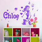 Personalised Name Monster High Kid / Nursery Removable Wall sticker vinyl Decal