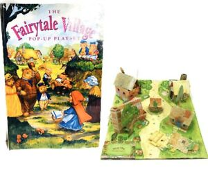 Pop-Up-Book-Vintage-Fairytale-Village-Pop-Up-First-Edition-1998-Rare-New