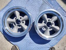 2 American Racing Torque Thrust 14x6 Wheel Rim Used Clean Polished Dual Pattern