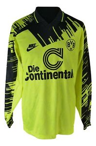 Nike-The-Continental-BVB-Borussia-Dortmund-Trikot-shirt-1993-1994-Size-L-Home-AT6