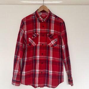 design di qualità 3bb01 68fa9 Dettagli su Supreme Camicia check ROSSO. Taglia large. NYC. di skateboard.-  mostra il titolo originale