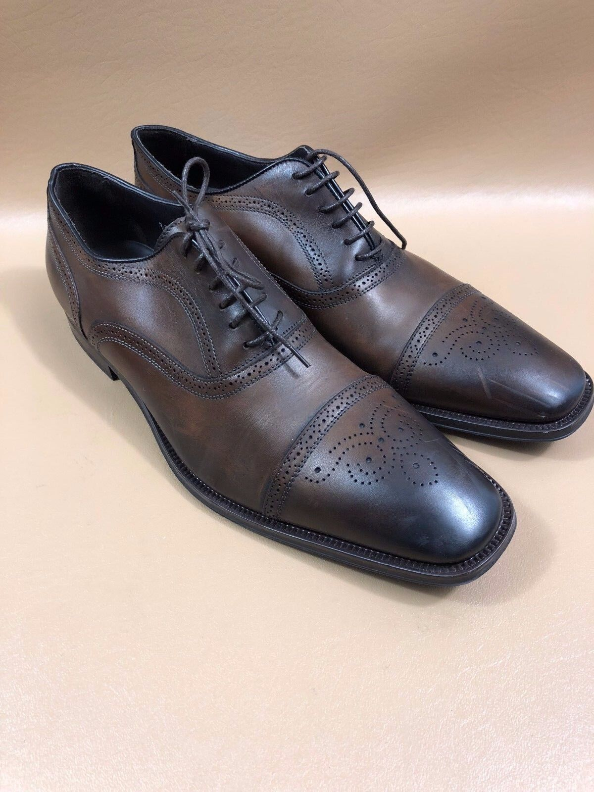 To Boot New York Brown Oxfords Shoes Size 11