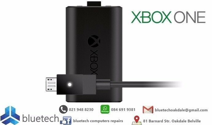 Xbox One Controller Rechargeable Battery Pack with USB Charging Cable