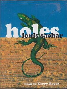 Louis-Sachar-Holes-3-Cassette-Audio-Book-Unabridged-Kerry-Beyer-FASTPOST