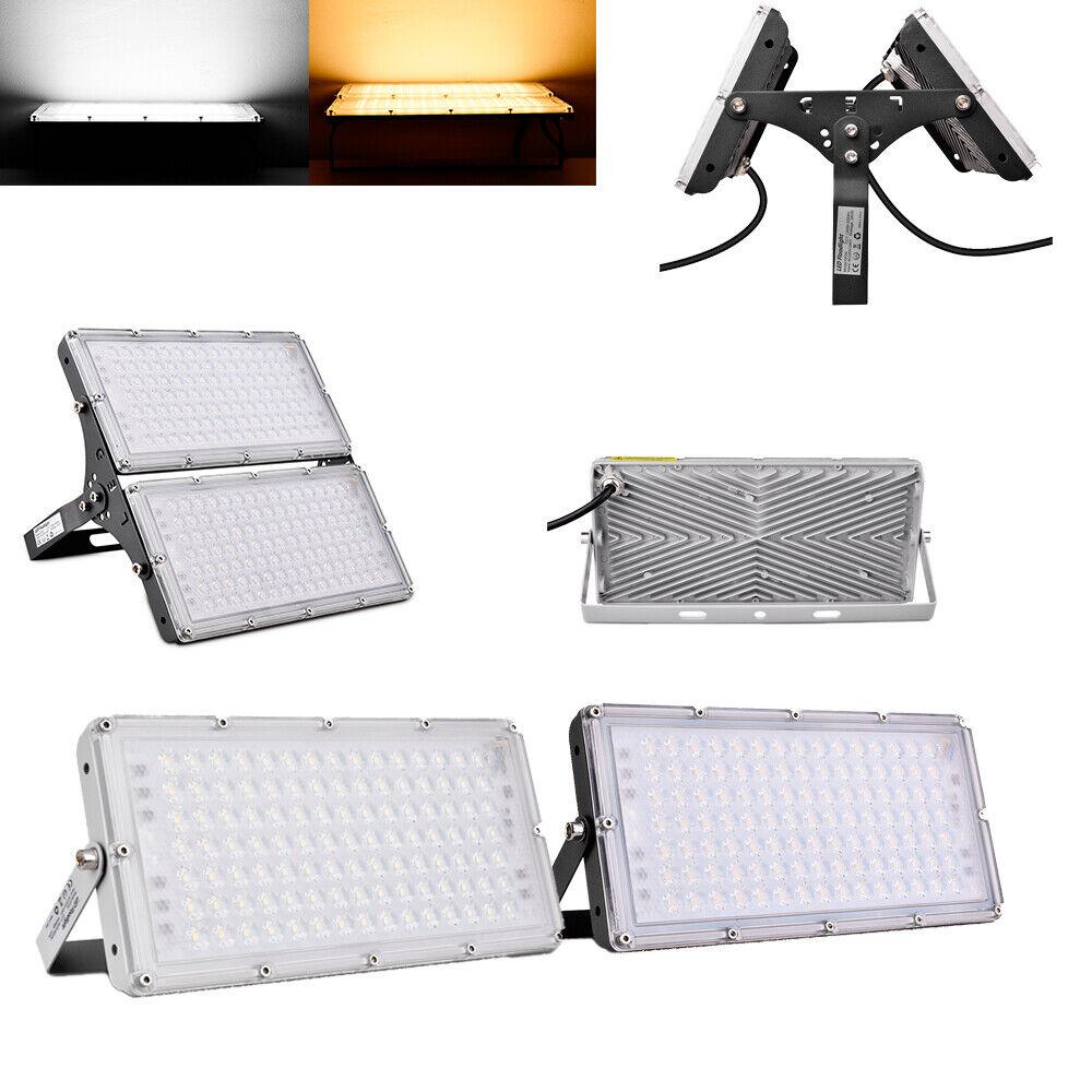 LED Fluter Modul Strahler Leuchte Außen Scheinwerfer Kaltweiß Warmweiß IP67