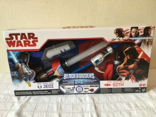 Bladebuilders 2 in 1 Set . Jedi and Sith NEW LOW PRICE Star Wars Light Sabre .