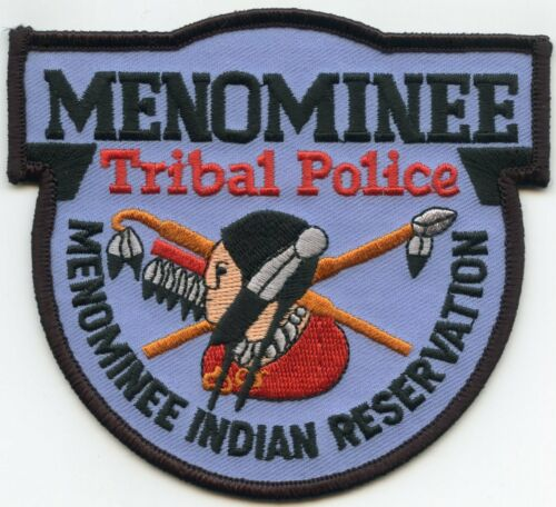 MENOMINEE INDIAN RESERVATION WISCONSIN WI TRIBAL POLICE PATCH
