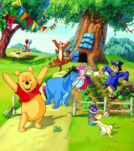 201x180cm Wand Wandbild Tapete für Kinder Badezimmer Disney Winnie Pooh