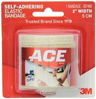 6 Pack - Ace Self-adhering Bandage 2 Inches 1 Each