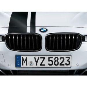 BMW Of Newton >> Details About Bmw F30 3 Series M Performance Black Kidney Grills Sedan 328i 335i Oem Bnib