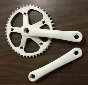 Lasco FIXED GEAR TRACK BIKE CRANK 170 48T Bicycle Crankset
