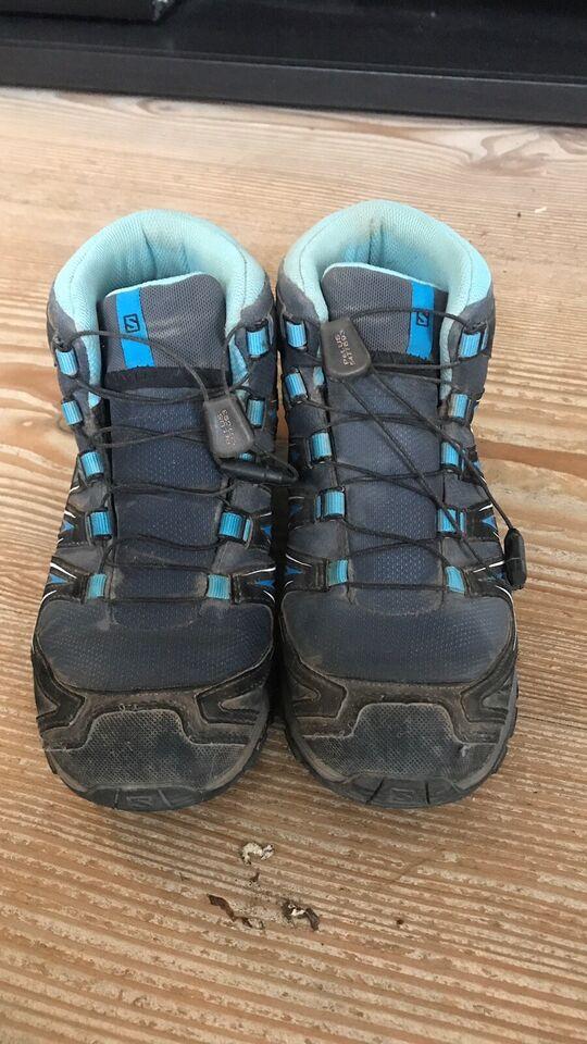 Vandrestøvler, Scharps (læder) Salomon(grå/blå)