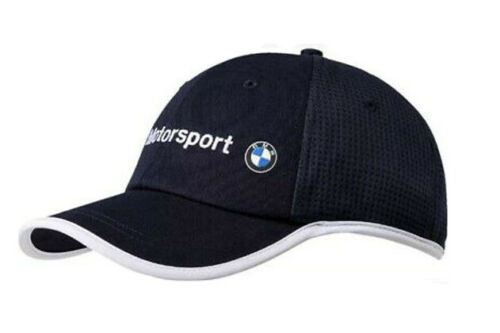 NEW PUMA BMW Motorsport Team Adjustable Trucker Hat Cap White