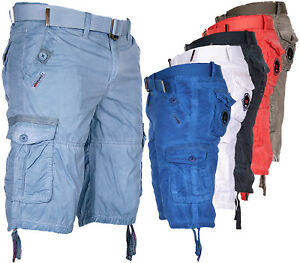 390aa6f2c5a Image is loading Geographical-Norway-Men-039-s-Cargo-Shorts-Bermuda-
