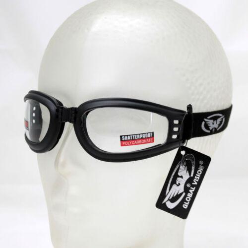 Biker Chopper Motorrad Sport Brille Schutzbrille Splitterfrei Sonnenbrille UV400