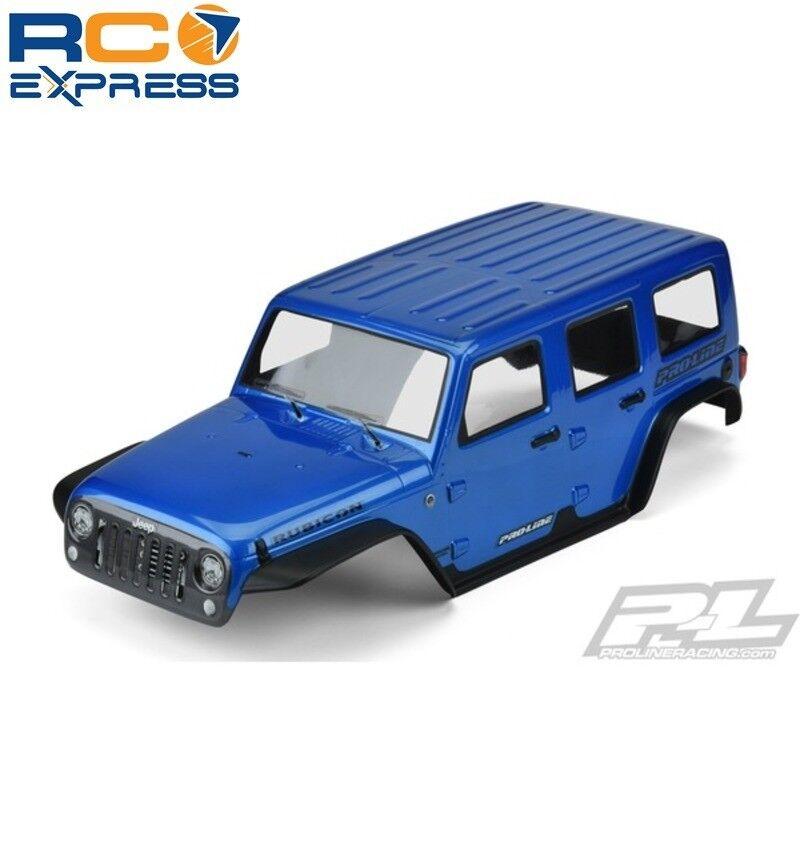 Pro-line Pre-pintado Pre-Corte Jeep Wrangler Rubicon (Azul) 12.8 TRX4 PRO3502-13