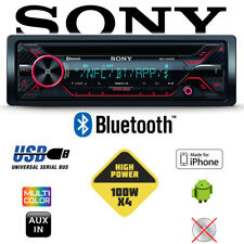 Sony MEX-GS820BT - 4x 100 Watt Bluetooth Android iPhone | MP3 USB Autoradio
