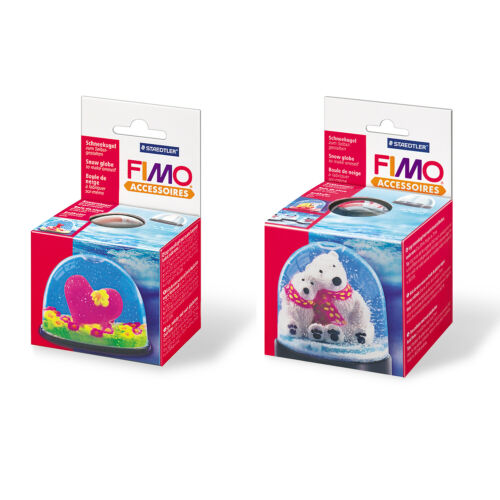 Genuine FIMO® Accessories Snow Globes to Make Oneself Oval or Round Shape