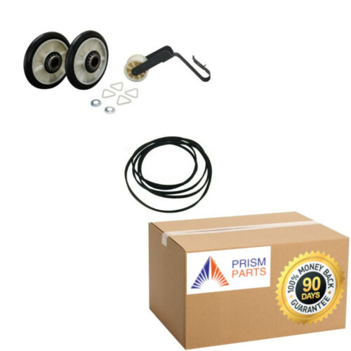 For Admiral Dryer Repair Kit With Belt Idle Pulley Rollers # PR2491313PAAD100