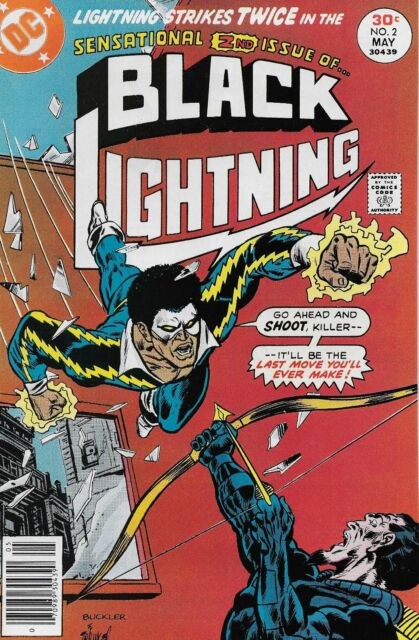 Rick Buckler Cover BLACK LIGHTNING Issue #1 UNSIGNED 11x17 PHOTO