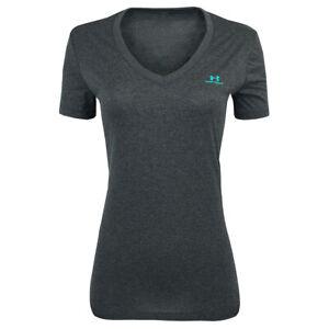 Under-Armour-Women-039-s-UA-Tech-Sportstyle-V-Neck-T-Shirt