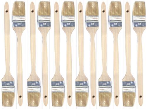 "12 x Pinsel Heizkörperpinsel Eckenpinsel Maler Farbe gebogen Breite 60 mm 2,5/"""