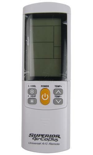Replacement remote for mitsubishi msz-hj25va