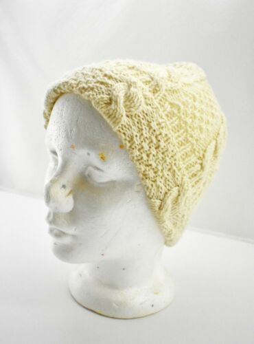 Vintage Standun of Ireland Cable Knit Wool Hat - H