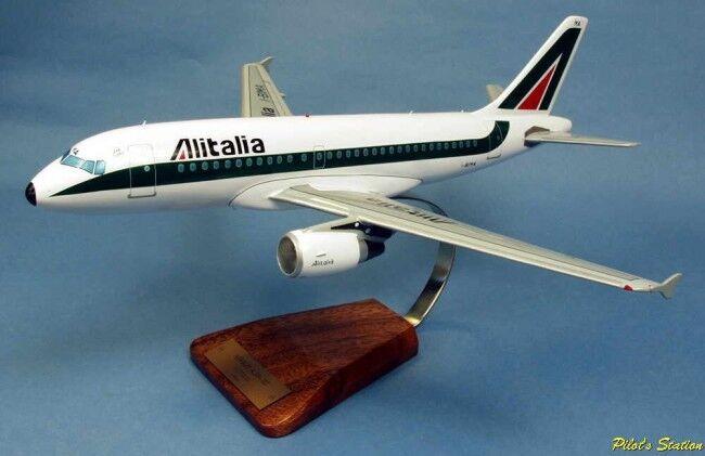 Airbus a319-112 alitalia 1 100 avion avion avion Aircraft yakair Wood modelo  buscando agente de ventas
