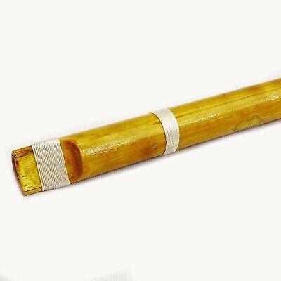 Bamboo Flute braun traditionelles Musikinstrument aus Holz handgefertigt Bansuri