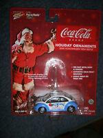 Johnny Lightning 1:64 Volkswagen 2000 Beetle Ornament Coca Cola Bears