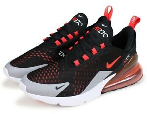 check out 5567d 56062 Details about Nike Air Max 270 Black Red AH8050-015 Rare Men Running Shoes  100%AUTHENTIC DS