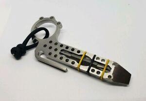EDC Multi Tool Pry Bar Pocket Clip Bottle Opener Stainless Custom Made in USA