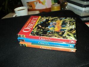 """RARE! LOT 3 DVD NEUF """"LA VIE SECRETE DES OISEAUX : MANGER, VOLER, S'AIMER"""""""
