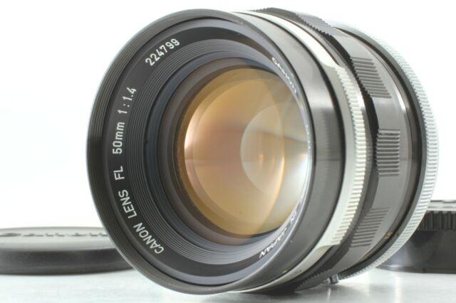 【N.MINT-】Canon FL 50mm f/1.4 Standard Manual Focus Lens from JAPAN#U27【Free Ship