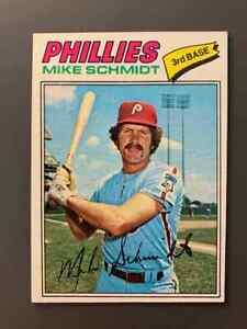 1977 Topps #140 Mike Schmidt HOF Philadelphia Phillies NM+