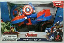Marvel Captain America Avengers Radio Control 4 Wheeler Car Toy RC 3+ Superhero