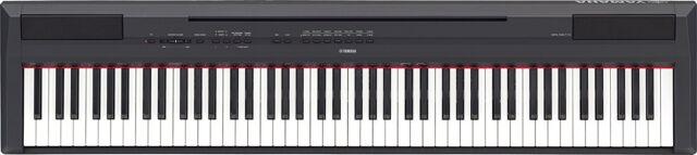 WIE NEU: Yamaha P-115B Digital-Piano E-Piano Klavier 88 Tasten + Zubehör schwarz
