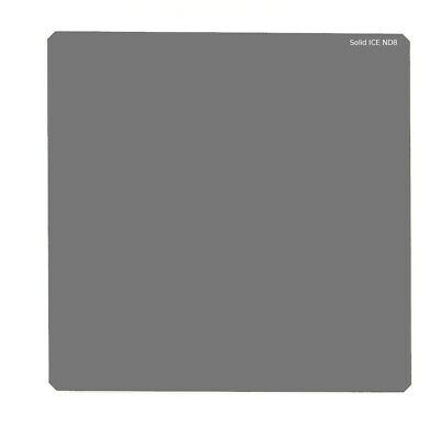 Solid ICE Shockproof 77mm ND8 Filter Neutral Density ND 3 Stop Tempered Optical Glass 77