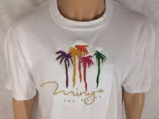 Vintage Mirage Las Vegas T-Shirt XL White Jerzees Palm Trees
